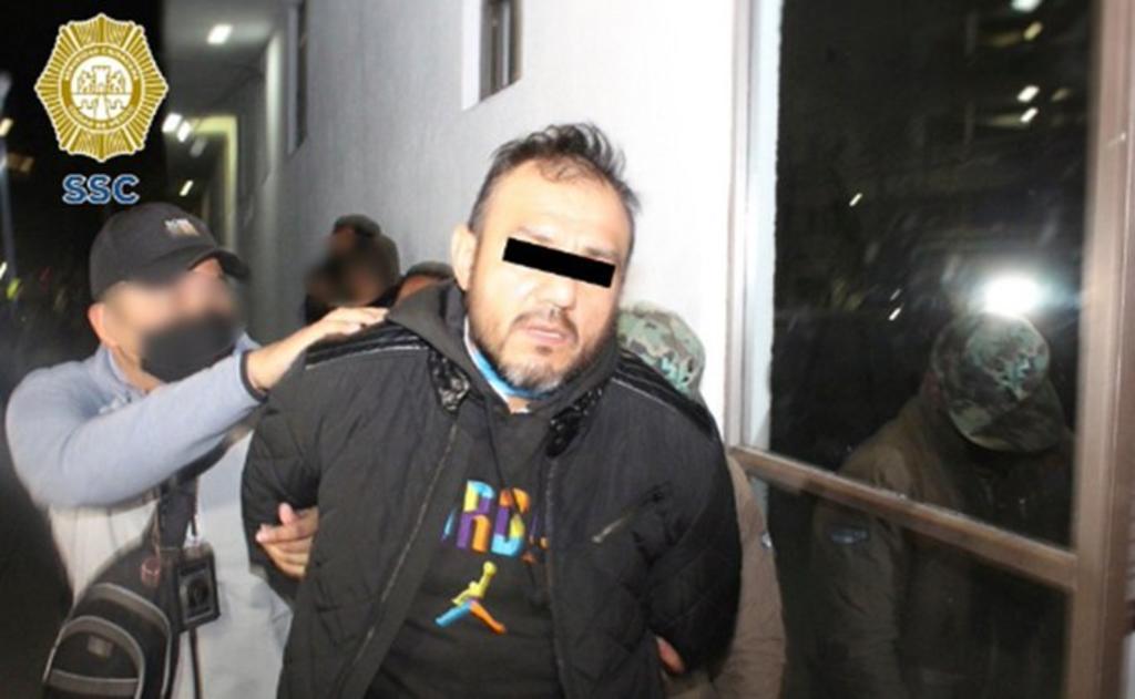 Detienen a 'El Pipis', presunto extorsionador de la Unión Tepito