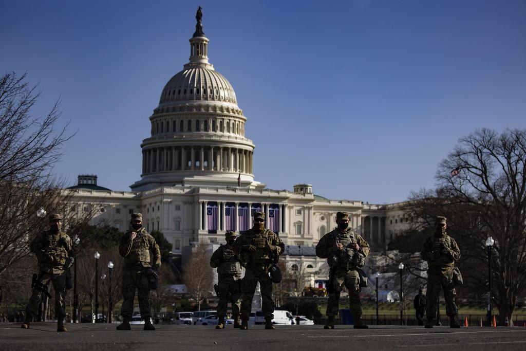 Asunción de Joe Biden; Washington se prepara para el peor escenario