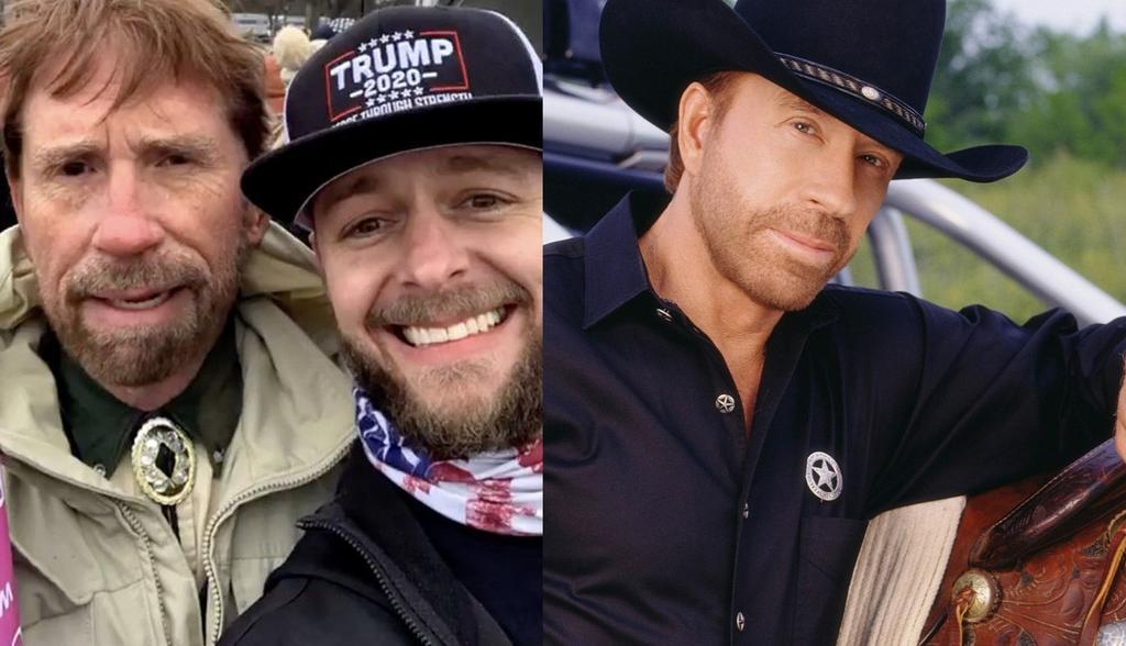 ¿Chuck Norris estuvo en el ataque al Capitolio? actor desmiente fotografías virales