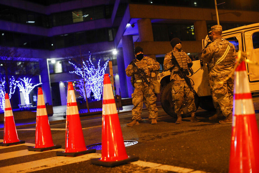 Investigan en EUA a los guardias que protegerán acto de Biden