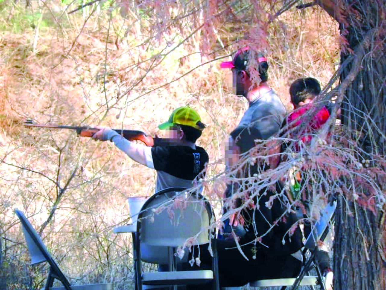 Detectan a menores disparando en Cañón de Fernández