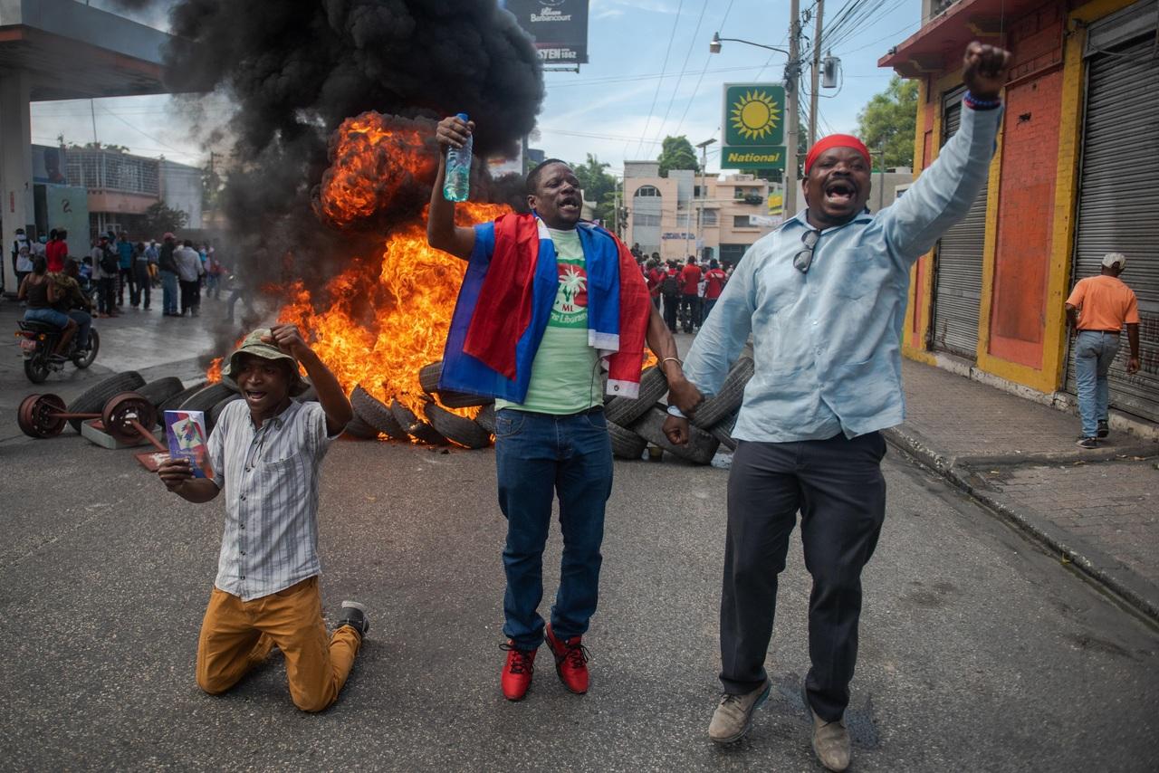 Protestan en Haití contra inseguridad