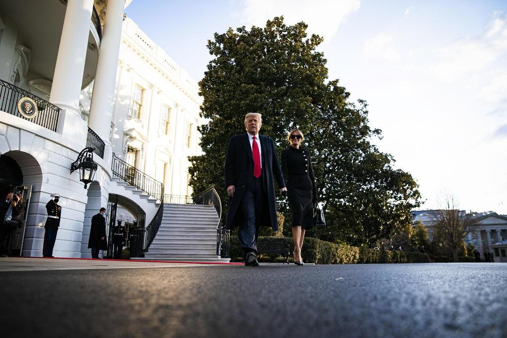 Trump abandona la Casa Blanca a horas de investidura de Biden