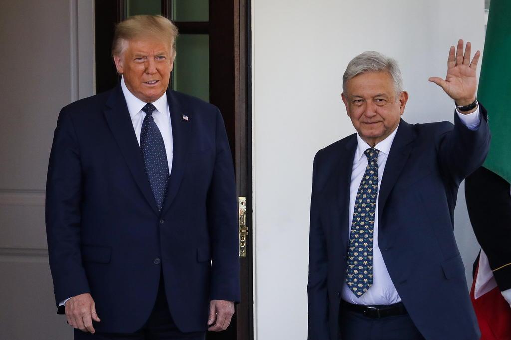'Relación con Trump fue buena y en beneficio de México', asegura AMLO