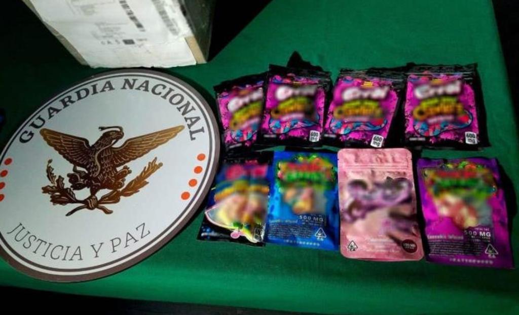 Decomisan en San Luis Potosí 29 paquetes de dulces que tendrían marihuana