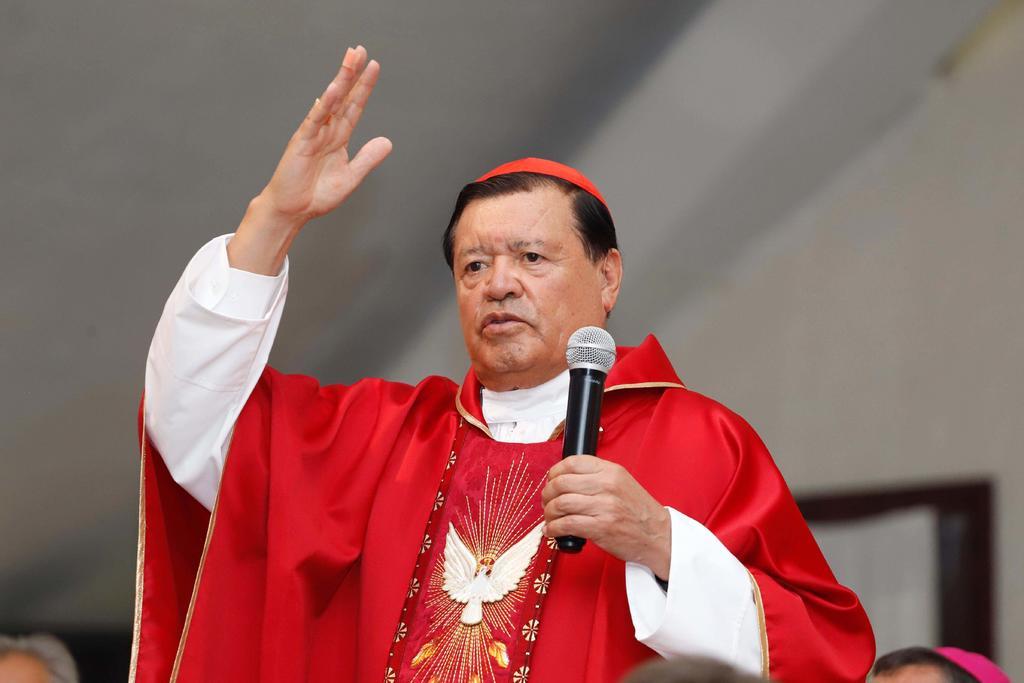 'Cardenal Rivera decidió recibir atención médica en sector privado'