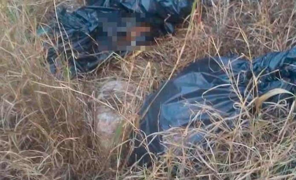 Localizan tres bolsas con restos humanos en San Luis Potosí