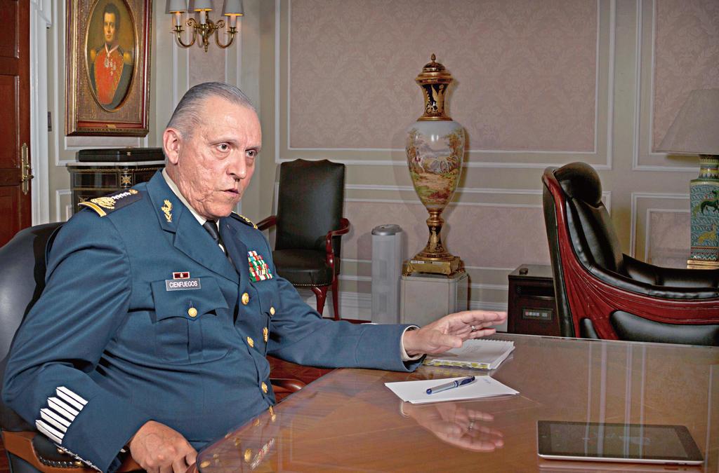 Avalan fiscales estatales investigación de FGR realizada al general Cienfuegos