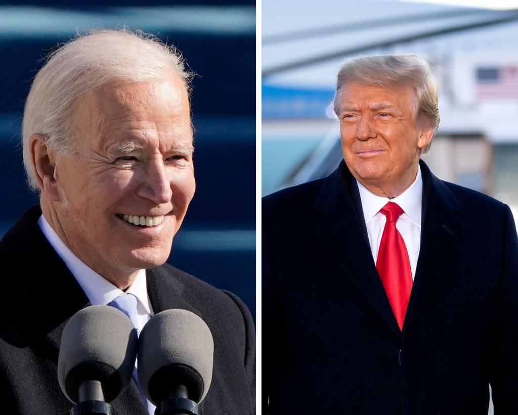 Biden dice que Trump le dejó 'una carta muy generosa' en la Casa Blanca