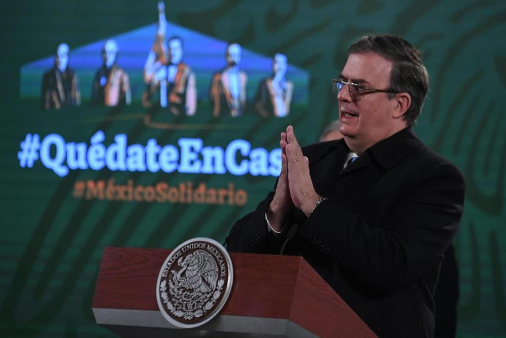 Saluda México 'fin' de construcción de muro con EUA y reforma migratoria