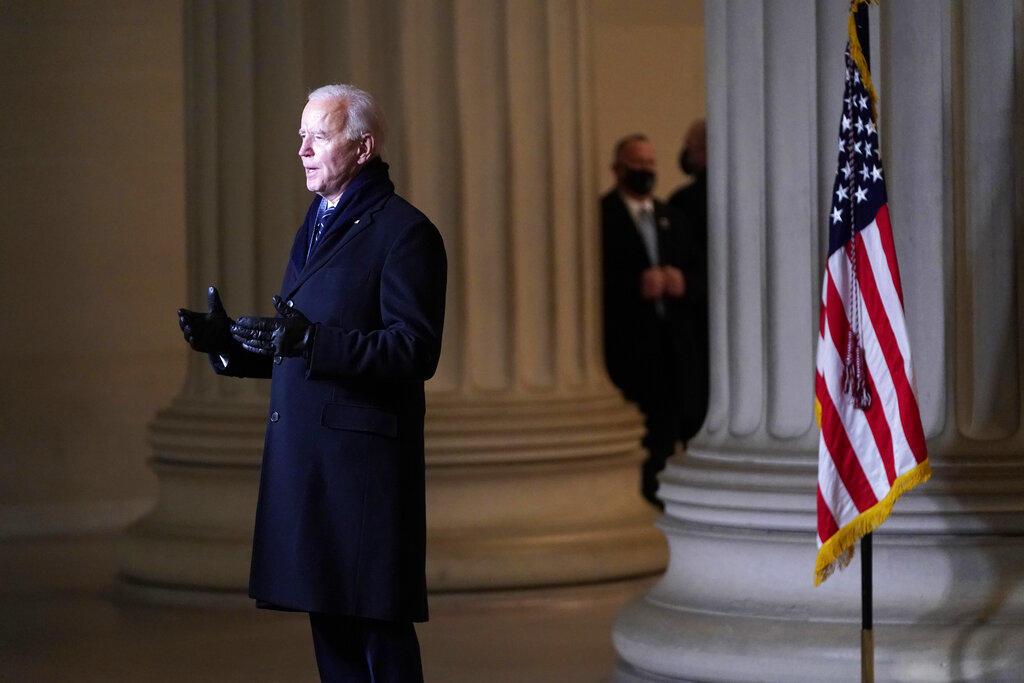 Joe Biden: hemos aprendido que la democracia es lo más preciado