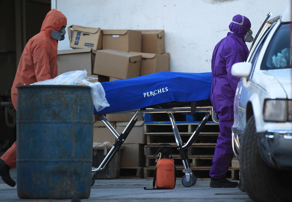 Registra México una de sus cifras de muertes diarias por COVID más elevadas