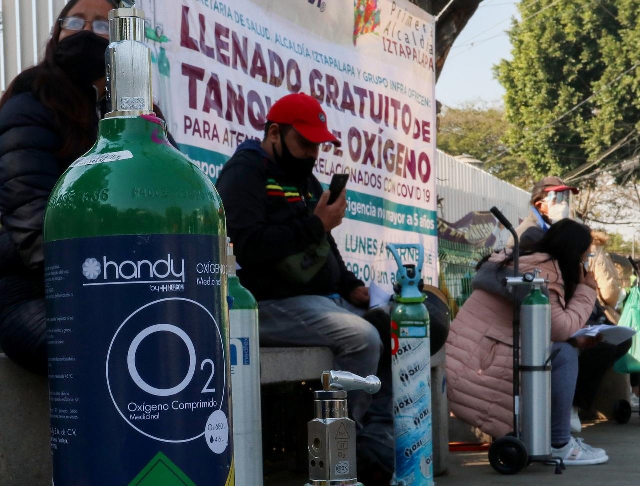 'Delincuencia, tras tanques de oxígeno'