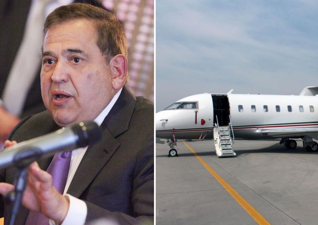 Avión que extradita a Alonso Ancira también trasladó a Lozoya y 'El Chapo'