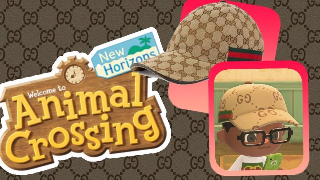 Aterriza Gucci en la isla 'Animal Croosing: New Horizons'