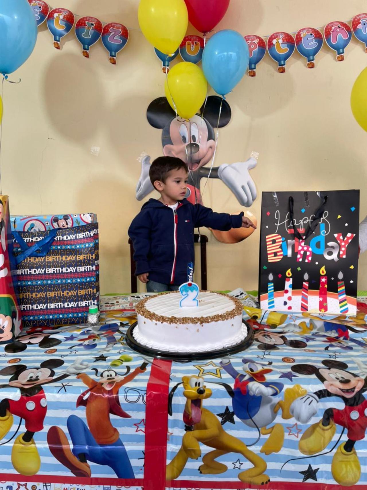 Celebración para Mateo