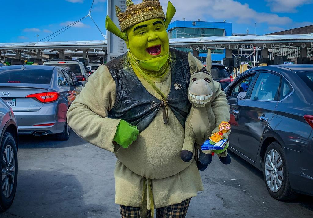El 'Shrek de Tijuana' que lucha por un bien común