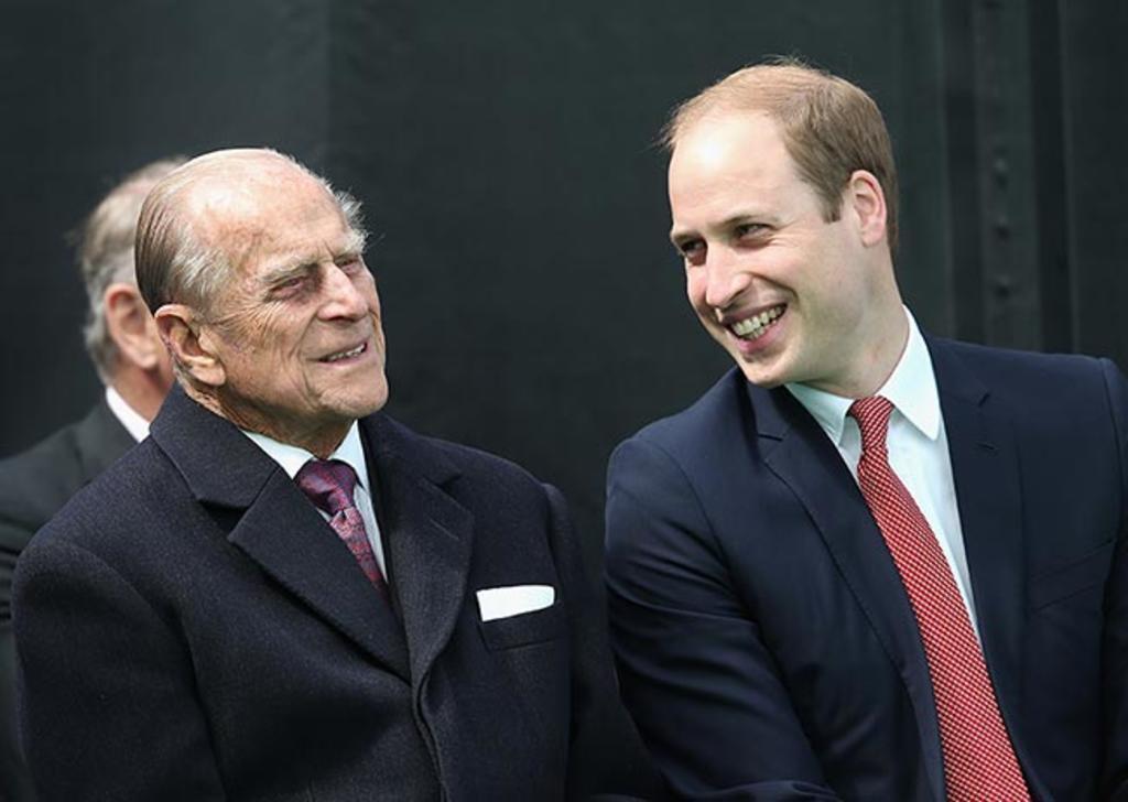 Príncipe Guillermo habla sobre la salud de su abuelo el duque de Edimburgo