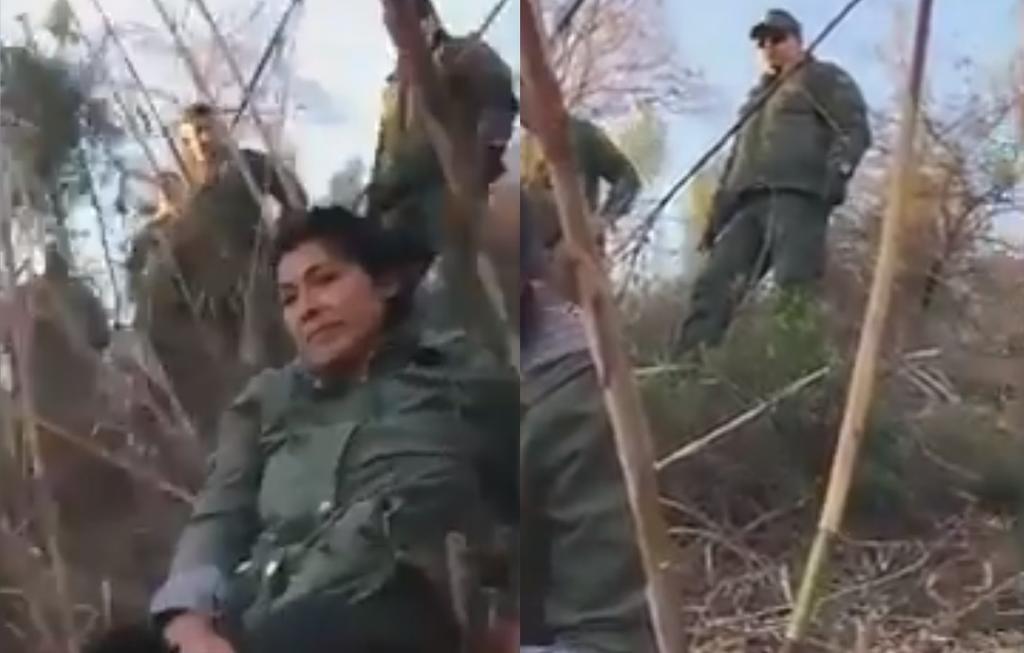 'Yo soy responsable de ellos'; 'coyote' discute con agente fronterizo al ser interceptado