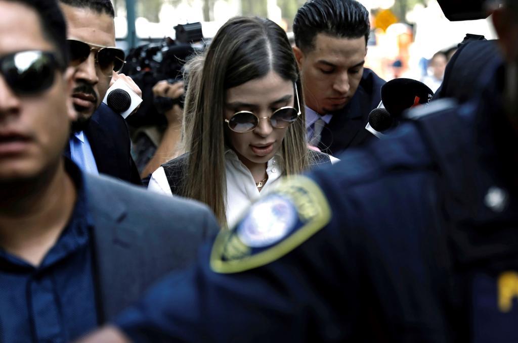 Emma Coronel, representante de 'El Chapo' al frente del Cártel de Sinaloa