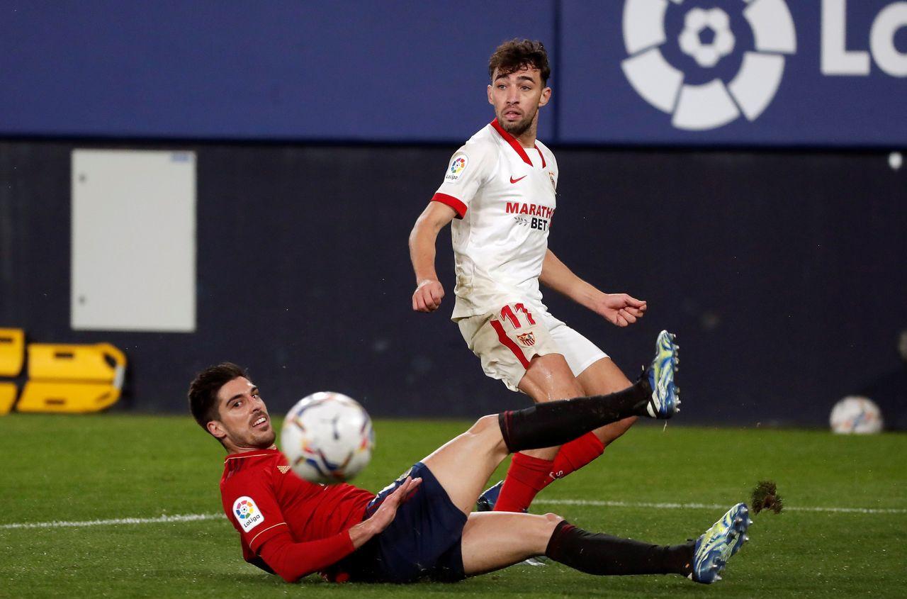 El Sevilla vence al Osasuna