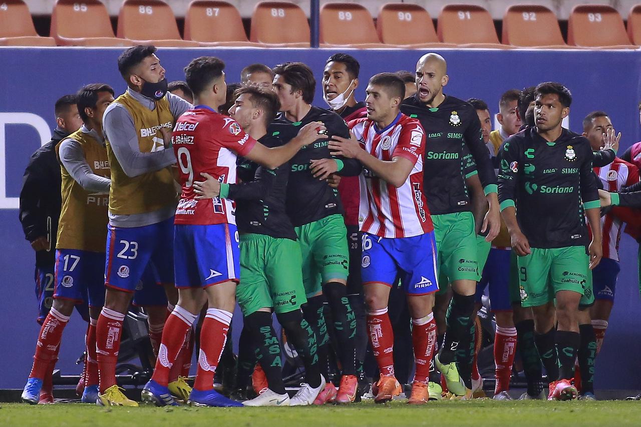 Más polémica en el San Luis vs Santos