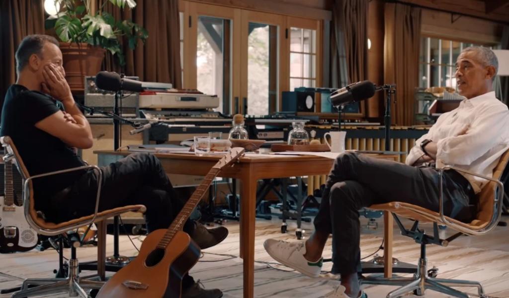 Obama y Springsteen anuncian podcast