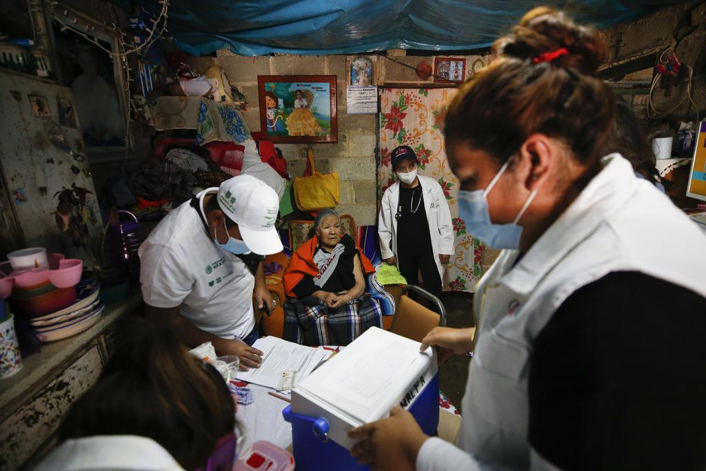 Vacunas, disponibles durante el 2021: Ssa