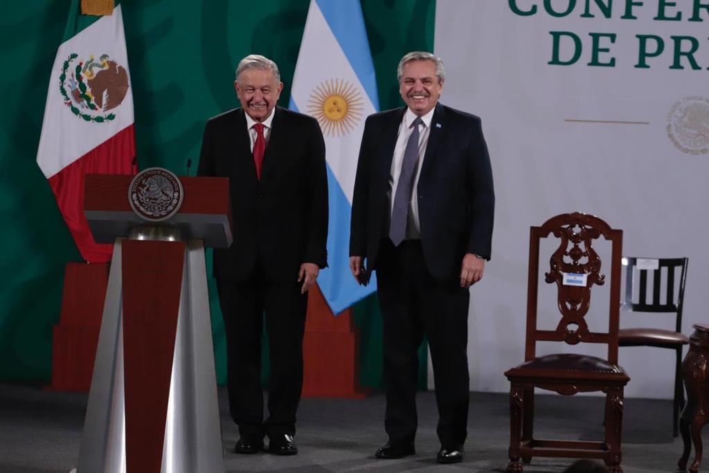 México y Argentina deben crear eje que una el continente: Alberto Fernández