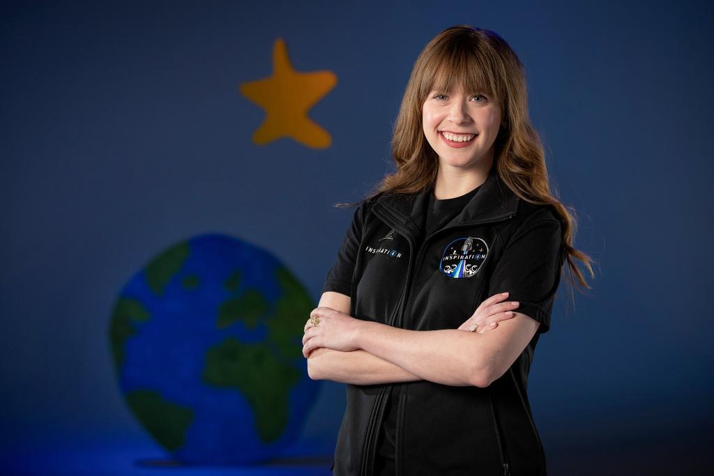 Sobreviviente de cáncer viajará al espacio en misión civil Inspiration4