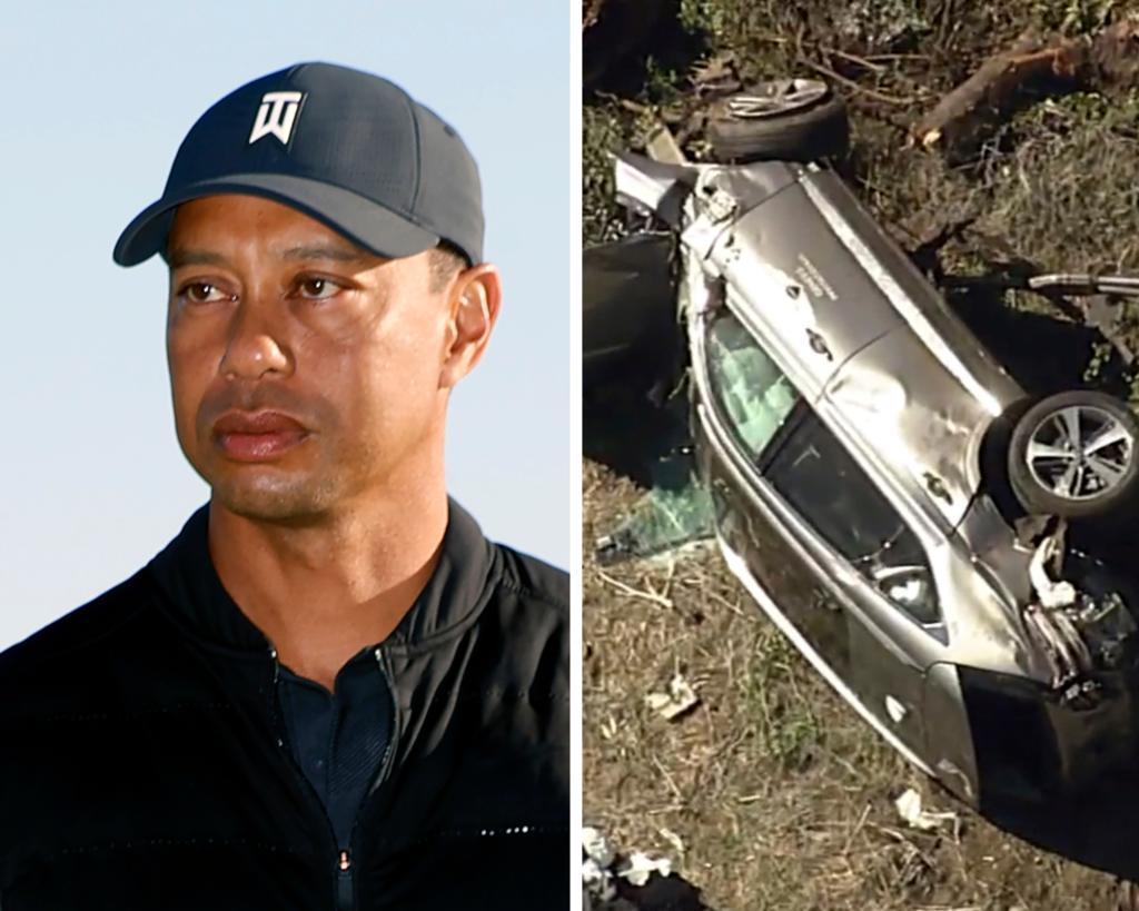 Tiger Woods en cirugía por 'múltiples lesiones' en las piernas tras accidente