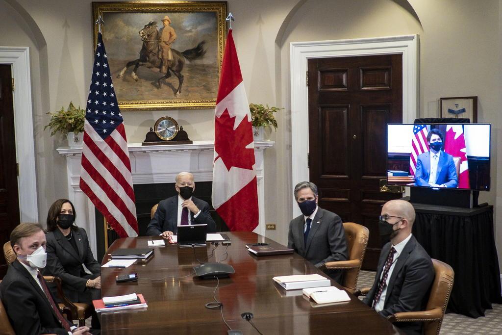 Biden dice que 'EUA no tiene ningún amigo más cercano que Canadá' en reunión con Trudeau