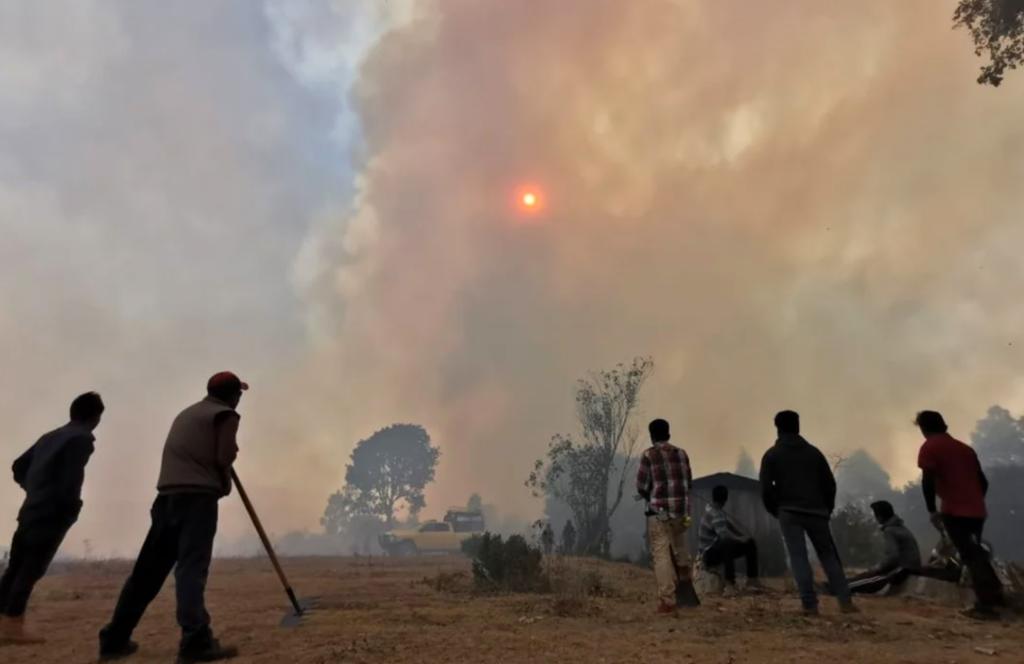 Por incendios, declaran emergencia en 28 municipios de Oaxaca