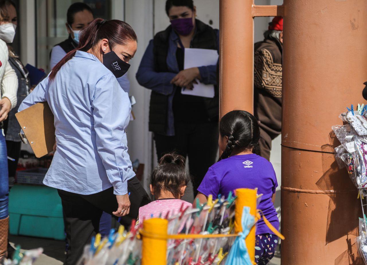 Detectan a seis niños trabajando