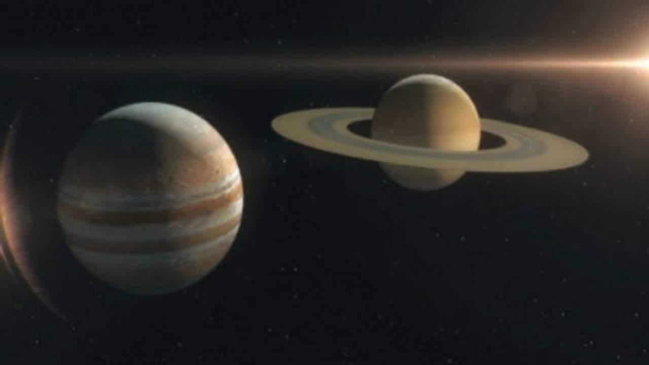 Mercurio, Júpiter y Saturno se alinearán con la Luna en marzo