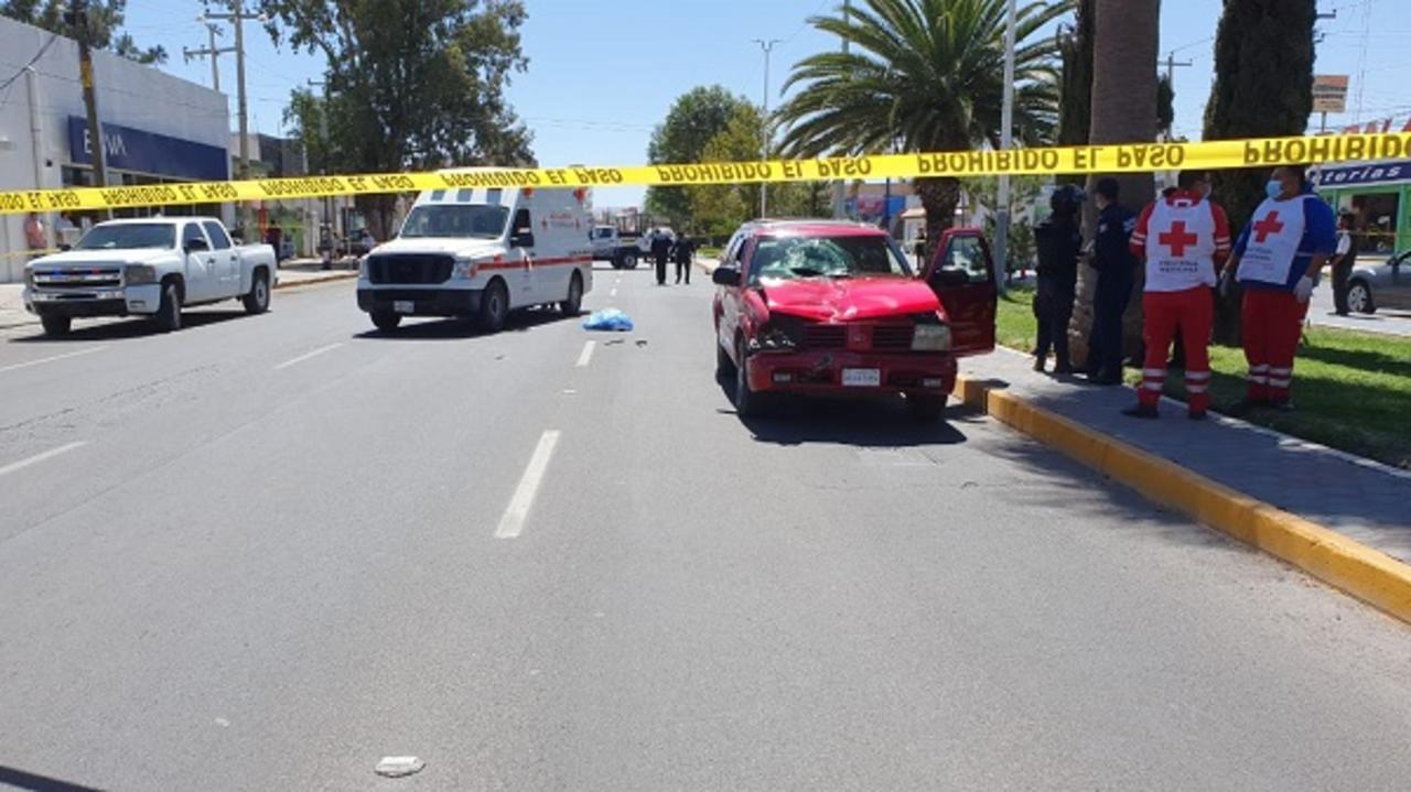 Varón muere atropellado en bulevar Domingo Arrieta