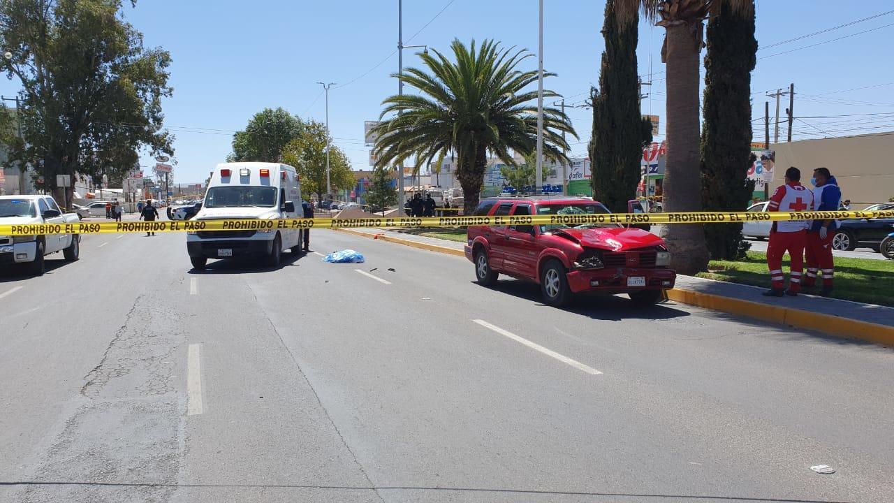 Identifican a varón atropellado en Domingo Arrieta