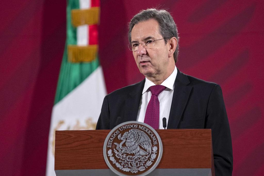 Esteban Moctezuma arriba a EUA como nuevo embajador de México