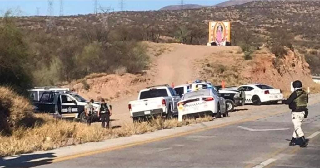 Cierran carretera federal por enfrentamiento en Sonora