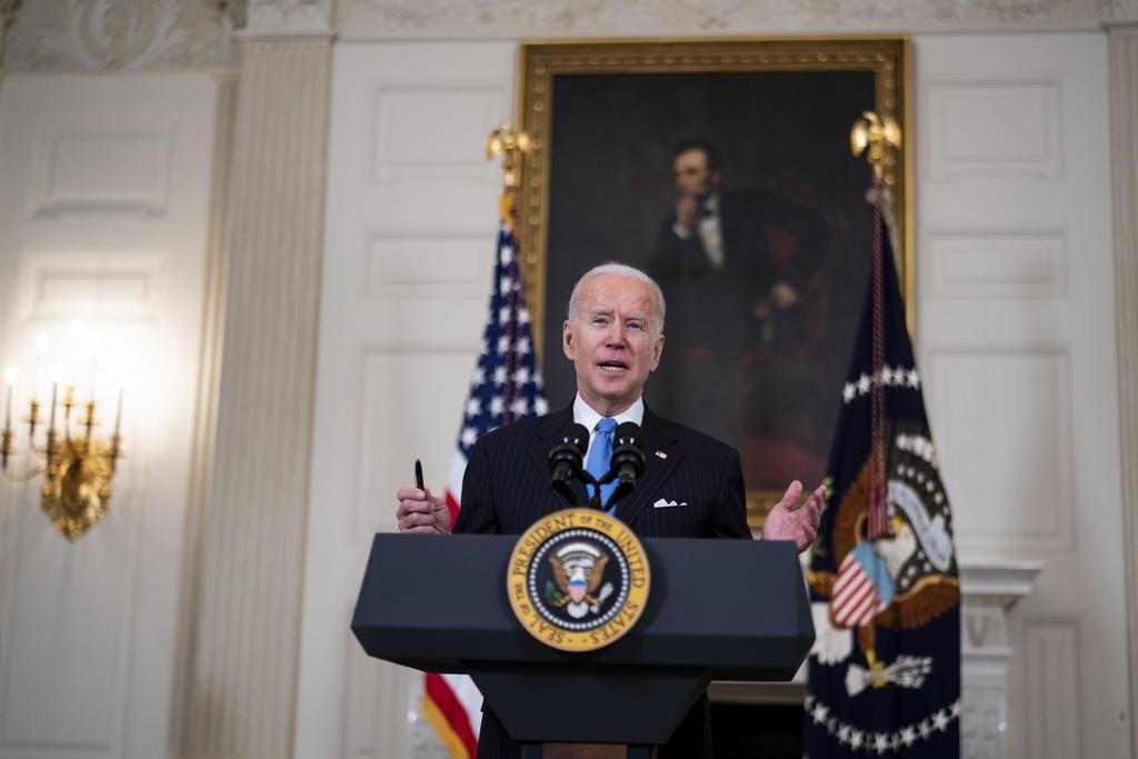 Suben registros en seguro médico reanudado por Biden