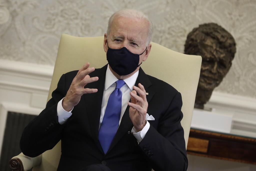 Ambicioso plan de rescate de Biden llega al Senado