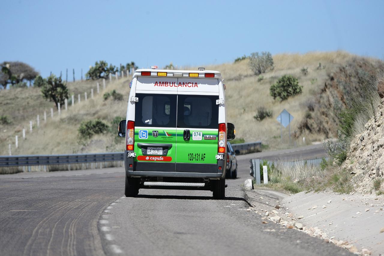 Iba de Coahuila a Querétaro pero se accidentó en Durango