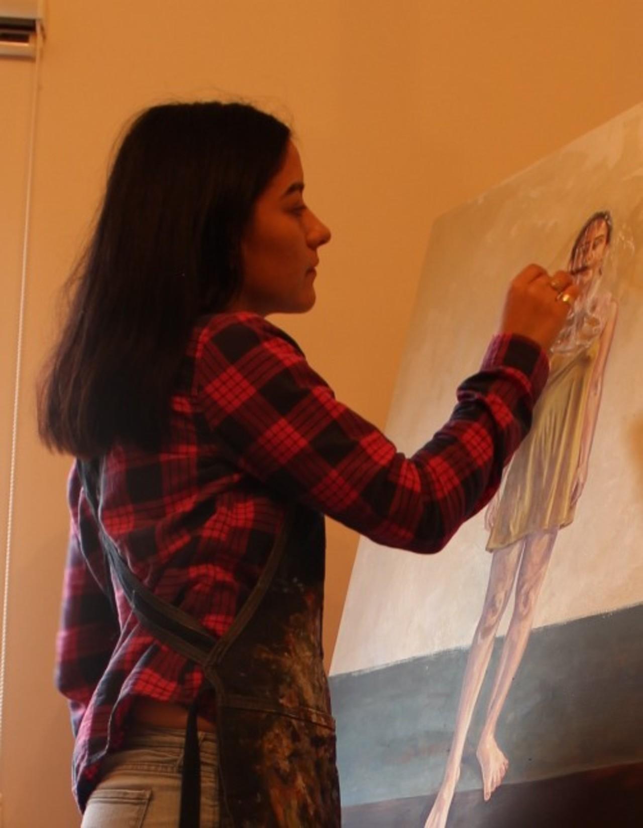 Taller de pintura en agenda del IMAC