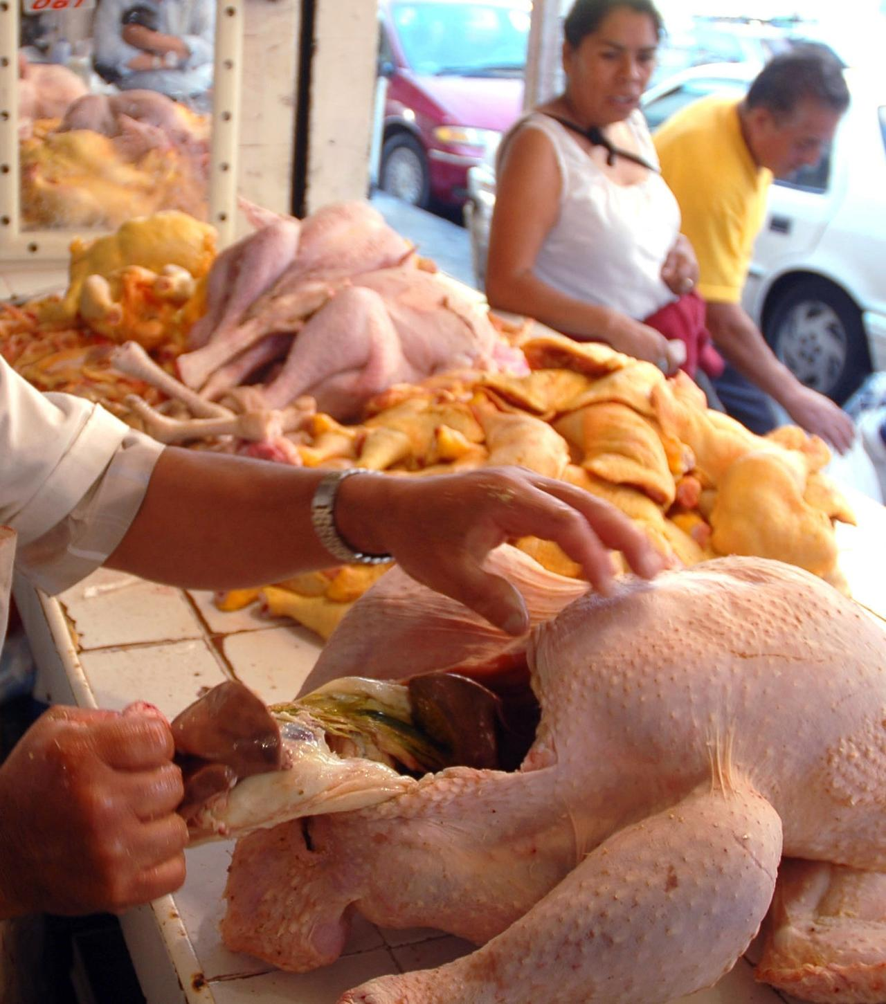 Más de 43 mil ton. de pollo en dos meses