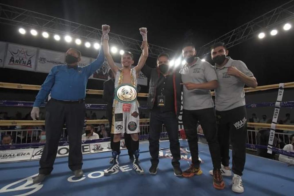 Gana lagunero Campeonato Nacional de boxeo