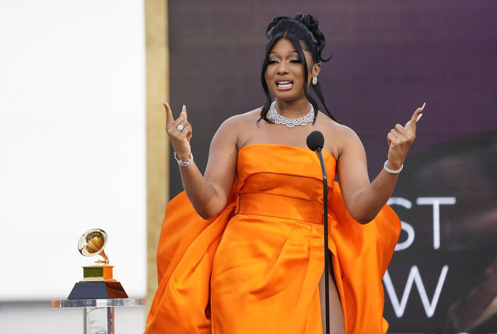 Megan Thee Stallion gana el Grammy a mejor artista nuevo