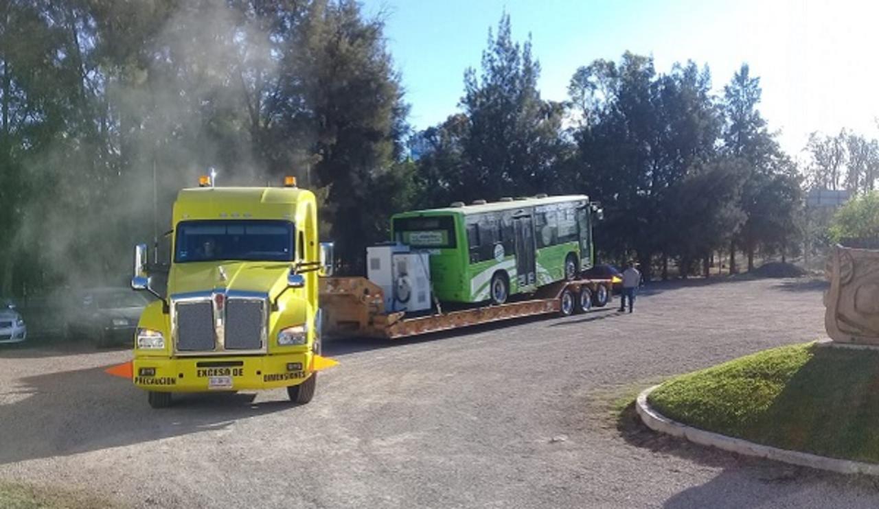 Llega a Durango autobús 100 % eléctrico