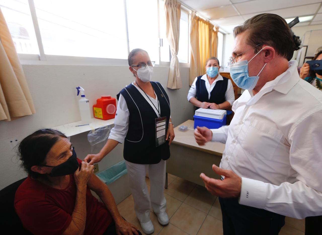 Llegan a Durango 11 mil 760 dosis más de vacuna contra Covid-19: Aispuro