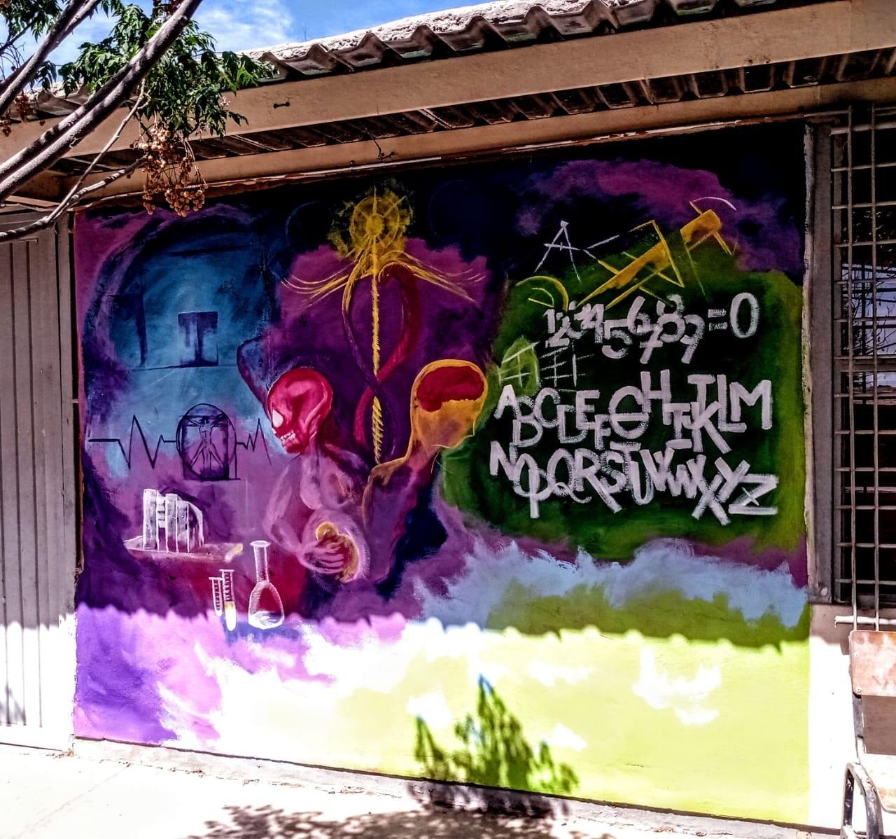 Montan mural en Gómez Palacio para impulsar el arte