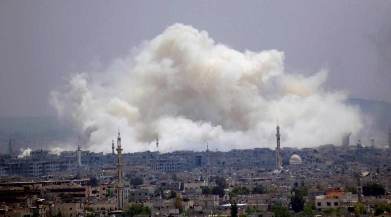 Siria intercepta nuevo ataque con misiles